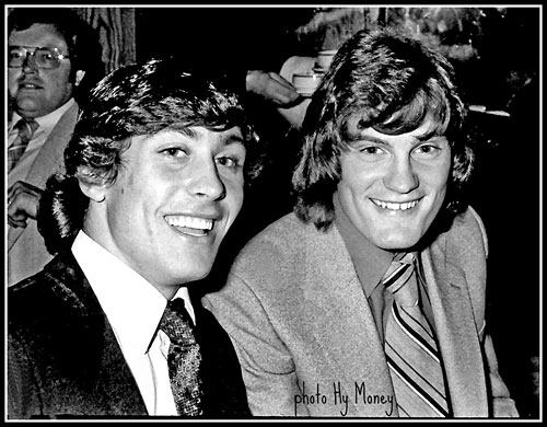 Me with Glenn Hoddle - in our younger days!